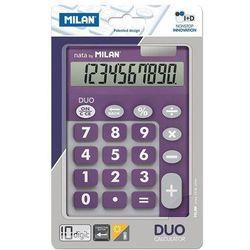 Kalkulator 10 pozycyjny Touch Duo fioletowy - MILAN