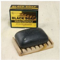 White Diamond Black Soap