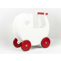 Wózek dla lalek Moover Klasyczna biel