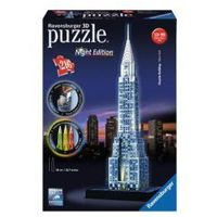 Puzzle, PUZZLE 3D 216 EL. CHRYSLER BUILDING NIGHT EDITION REKLAMA