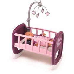 Smoby Baby Nurse Kołyska łóżeczko dla lalek z karuzelką