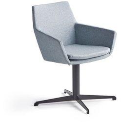Krzesło konferencyjne FAIRVIEW, czarny, niebieskoszary