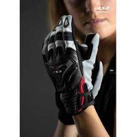 Rękawice motocyklowe, RĘKAWICE MOTOCYKLOWE DAMSKIE RĘKAWICE LS2 ALL TERRAIN LADY BLACK GREY RED - Damskie