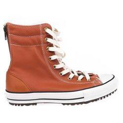 buty CONVERSE - Chuck Taylor All Star Hi-Rise Boot Brown (BROWN) rozmiar: 37.5