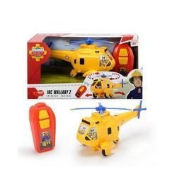 Strażak Sam Helikopter Wallaby 2 na podczerwień
