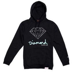bluza DIAMOND - Og Sign Hoodie - Core Black (BLK) rozmiar: XL