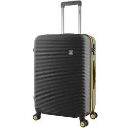 National Geographic Abroad średnia walizka na kółkach / 67 cm / czarna - czarny