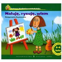 Książki dla dzieci, Domowa Akademia Przedszkolaka. Maluję, rysuję, wiem. 3-4 lat (opr. miękka)