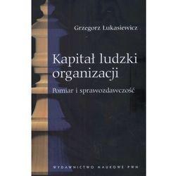 Kapitał ludzki organizacji (opr. miękka)