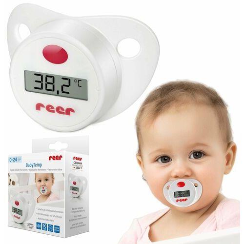 Termometry, Termometr cyfrowy smoczek dla maluszka LCD REER