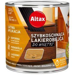 Lakierobejca szybkoschnąca do wnętrz Altax dąb 0,25 l