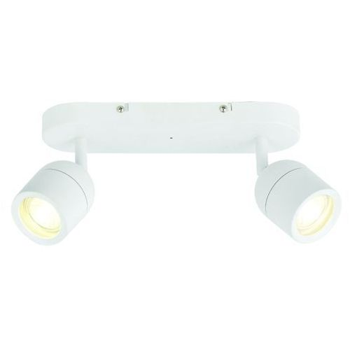 Pozostałe oświetlenie wewnętrzne, Spot plafon łazienkowy Colours Genlis 2 x 20 W GU10 IP44 biały