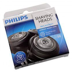 Kompletna głowica z 3 ostrzami do golarki Philips SH50/50 422203625841