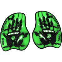 Maski, płetwy i fajki, arena Vortex Evolution Wiosełko pływackie zielony Akcesoria do Swimrun