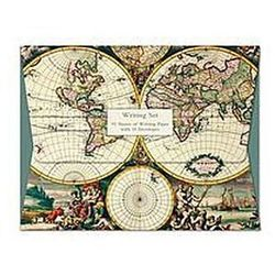 Papeteria Wallet Four Hemispheere World Map