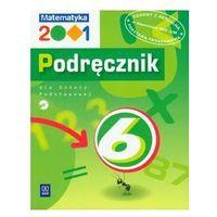 Matematyka, MATEMATYKA 2001 6 SP PODRĘCZNIK + PŁYTA CD (opr. miękka)