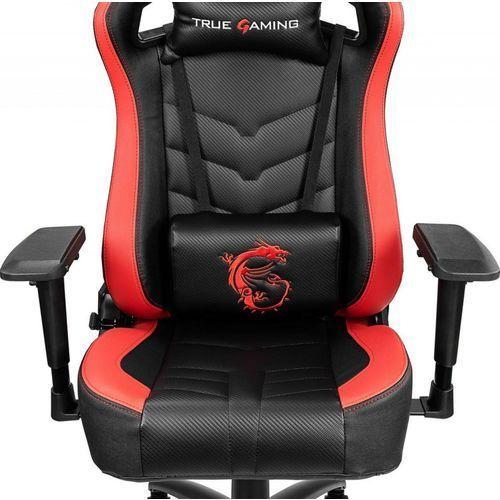 Fotele dla graczy, Fotel MSI MAG CH110 Czarno-czerwony DARMOWY TRANSPORT