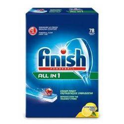 Tabletki FINISH All in 1 Tabletki do zmywarek - Powerball 78 szt. cytrynowe