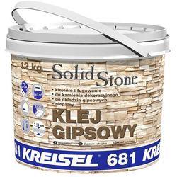 Klej gipsowy do kamienia dekoracyjnego SOLID STONE 12 kg KREISEL