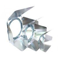 Zestawy i sprzęt DJ, Eurolite PAR-20 Barndoor - skrzydełka ograniczające do reflektora srebrne