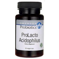 Swanson ProLacto Acidophilus (Probiotyki) 60 kaps. (Data ważności 31/01/2018)