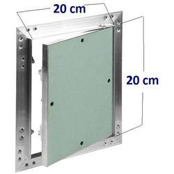 Klapa rewizyjna aluminiowa Awenta KRAL2 - 200x200mm