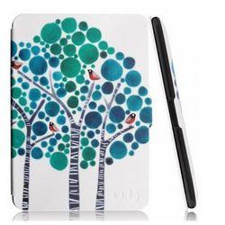 Etui Smart Case Kindle Paperwhite 1 2 3 Forest Blue