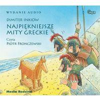 Literatura młodzieżowa, Najpiękniejsze mity greckie audiobook (opr. kartonowa)