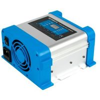 Przetwornice samochodowe, Ładowarka sieciowa 12 V do akumulatorów BC-20 PRO 20A (230V/12V) LCD 7 stopni ładowania