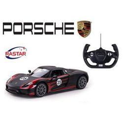 Duże Licencjonowane Zdalnie Sterowane Porsche 918 Spyder Weissach (1:14) + Bezprzewodowy Pilot.