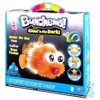 Kreatywne dla dzieci, Bunchems Rzepy Rybki Świecą w Ciemności 200 el. Spin Master