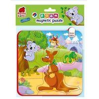 Puzzle, Piankowe puzzle magnetyczne. Zwierzęta z Australii