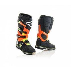 Acerbis Buty X-Rock czarno - pomarańczowy