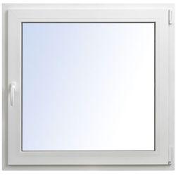Okno PCV rozwierno-uchylne 1065 x 1035 mm prawe białe