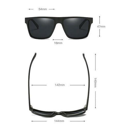 Okulary przeciwsłoneczne, Okulary przeciwsłoneczne polaryzacyjne męskie mat