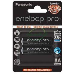 2 x Panasonic Eneloop PRO R6/AA 2550mAh BK-3HCDE/2BE (blister)