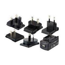 Zasilacz, USB, 5 V, 2 A, wraz z wtyczkami adapter