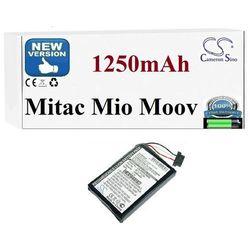 BATERIA Mitac Mio Moov 300 330 350 500 580 1250mAh
