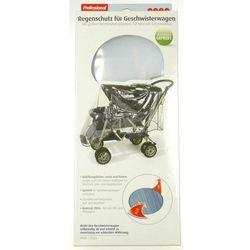 Folia przeciwdeszczowa na wózek dziecięcy podwójny