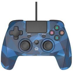 Kontroler SNAKEBYTE Game:Pad 4 S Camouflage Niebieski do PS4