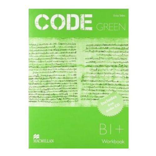 Książki do nauki języka, Code Green Workbook & CD Pack (opr. miękka)
