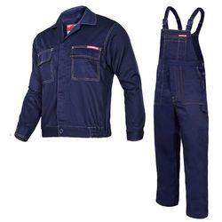 Komplet ubrań roboczych bluza, ogrodniczki XL (188/108-112) Granatowe