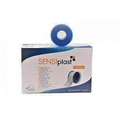 Plaster tkaninowy, biały SENSIPLAST - Zarys 5 m x 2,5 cm, 1 sztuka/rolka