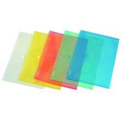 Teczka kopertowa PP na zatrzask C5 w transparentnych kolorach DONAU ekologiczna