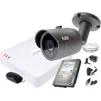 Zestawy monitoringowe, ZM11834 Zestaw do monitoringu kamera IR 30m Rejestrator Hikvision FullHD Dysk 1TB