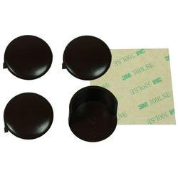 Zabezpieczenie narożników mebli 4szt brąz A-PLAST - brązowy