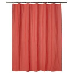 Zasłonka prysznicowa Palmi 180 x 200 cm czerwona