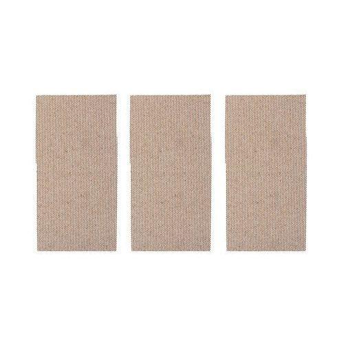 Papiery ścierne, Papier ścierny SIATKA RZEP P80 185 x 93 mm 3 szt. DEXTER