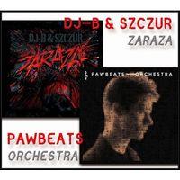 Hip Hop, RnB i rap, Orchestra /Zaraza (CD) - Pawbeats / DJ-B & Szczur