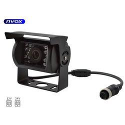 Samochodowa kamera cofania 4PIN CMOS w metalowej obudowie 12V 24V